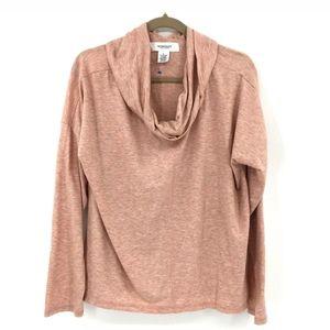 DRESSBARN Workshop Long Sleeve Cowl Neck Sweater